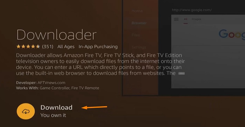 downloader on firestick