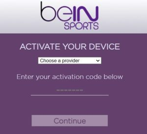 Watch BeIN Sports on Roku
