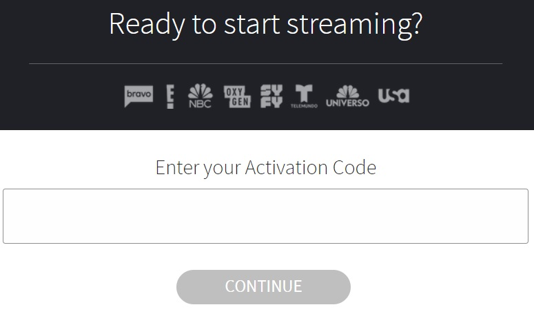 Activate NBC App on Firestick