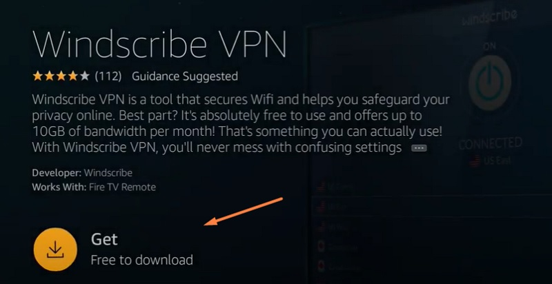 How to Install Windscribe VPN on FireStick