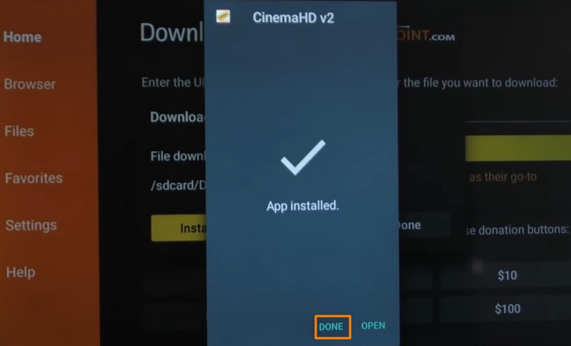 how to download cinema hd on firestick