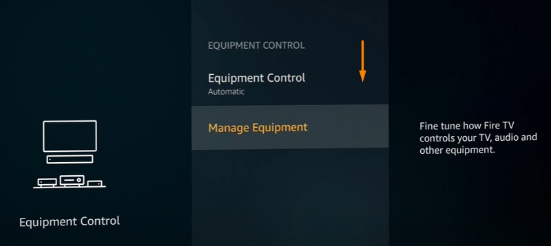 Manage Equipment