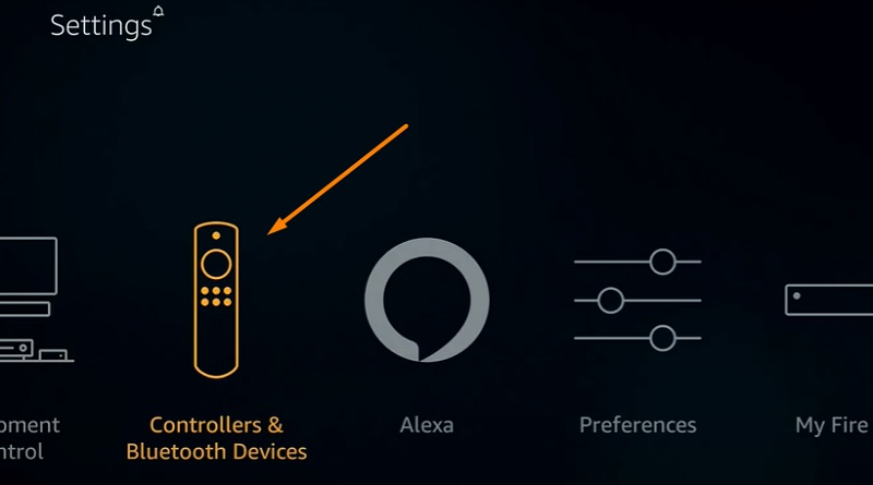 Pair a Bluetooth Controller with Firestick