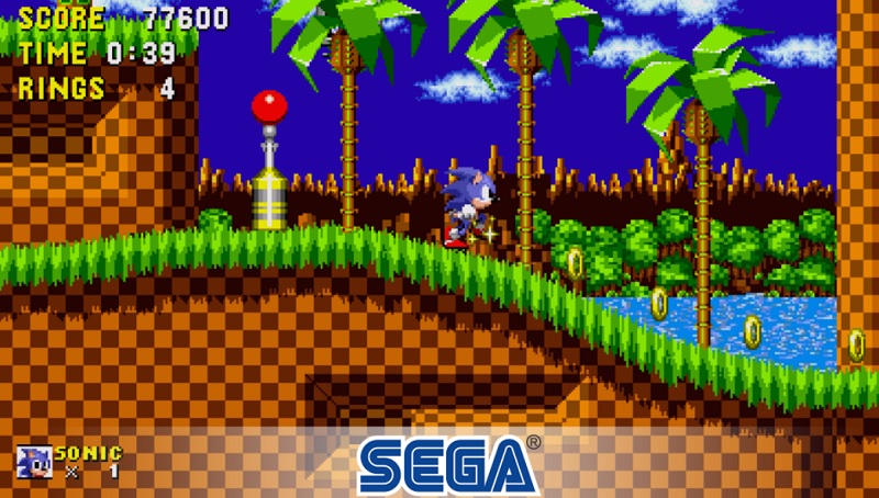 SEGA Classics on fire tv