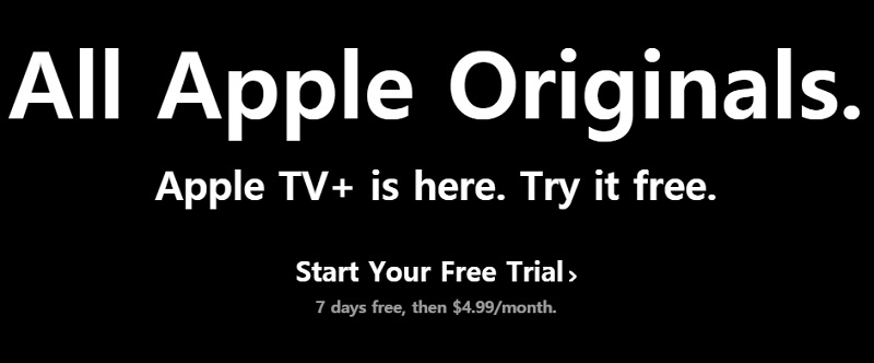 Sign up for an Apple TV+ Subscription