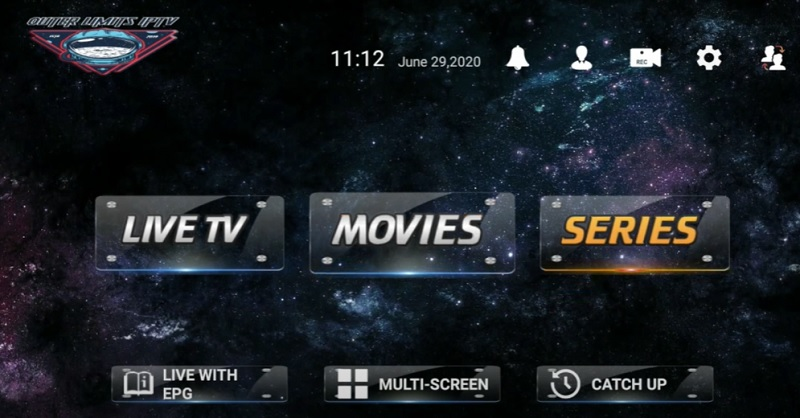 use Outer Limits IPTV app on Firestick