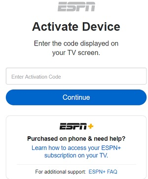 activate espn on fire tv stick