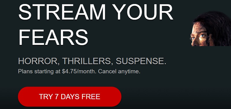 Free trial of shudder